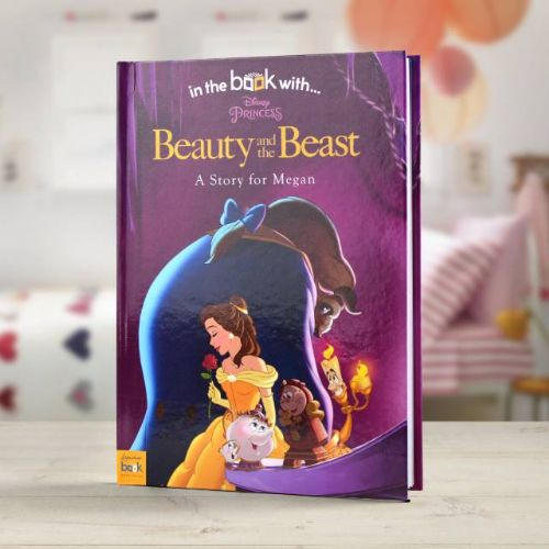 Personalised Disney Beauty & the Beast Book